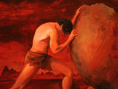 Αποτέλεσμα εικόνας για μύθοσ του σίσυφου